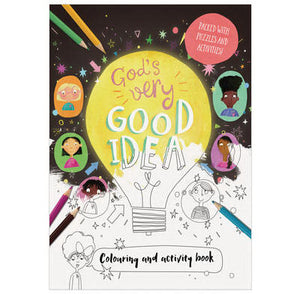 God's Very Good Idea Coloring And Activity Book
