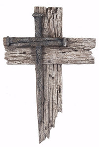 Nail Cross Plaque (7 x 10.25)