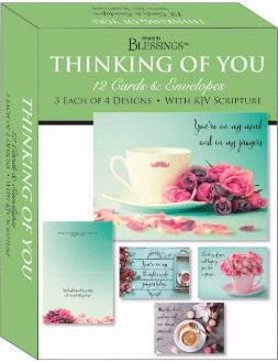 Card-Boxed-Shared Blessings-Thinking Of You Gentle Thoughts (Box Of 12)