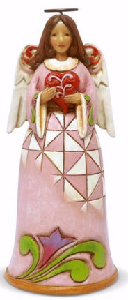 Figurine-Jim Shore-Heartwood Creek-Mini Angel-Love