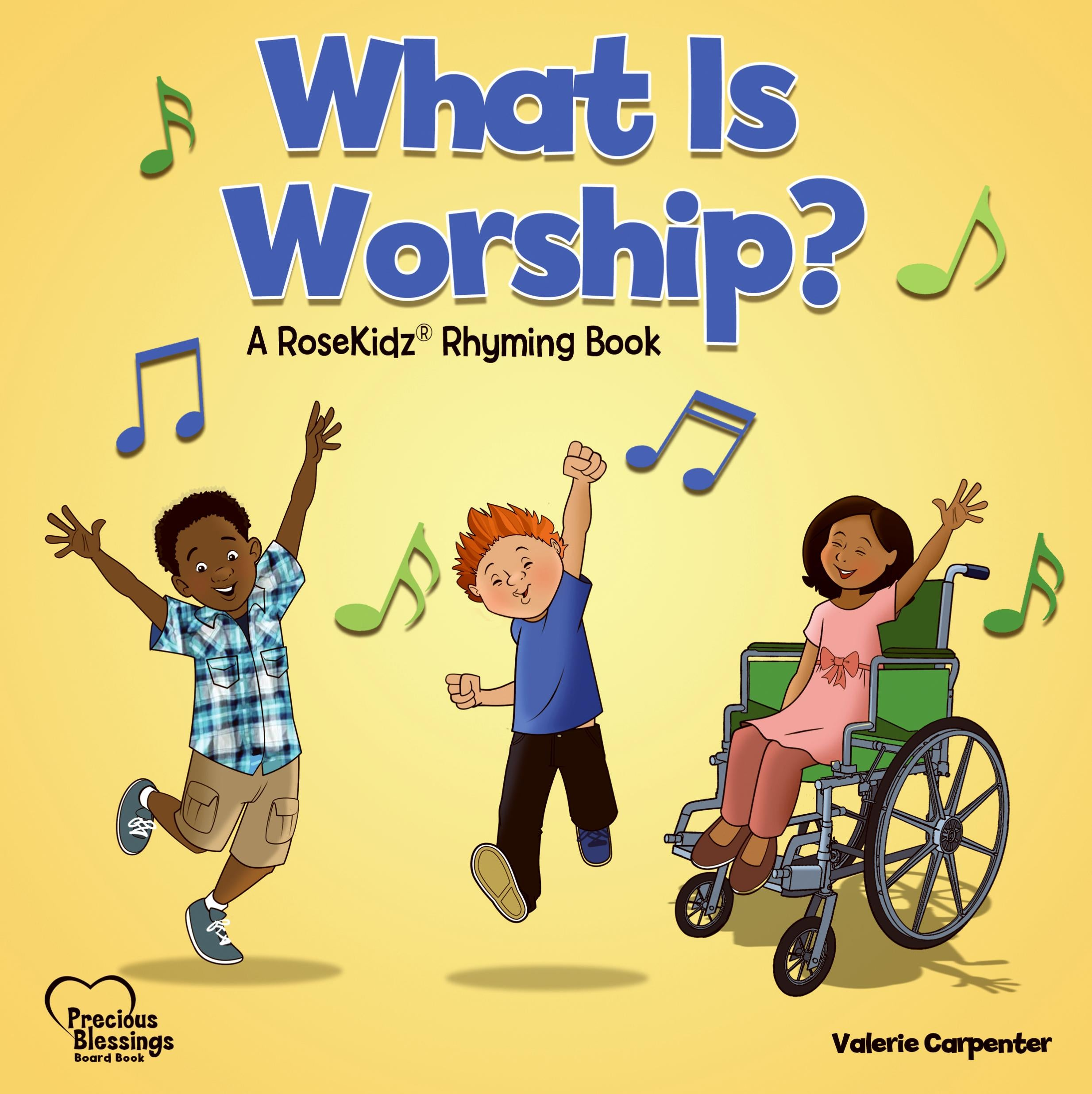 What Is Worship? (Precious Blessings #3)-Board Book