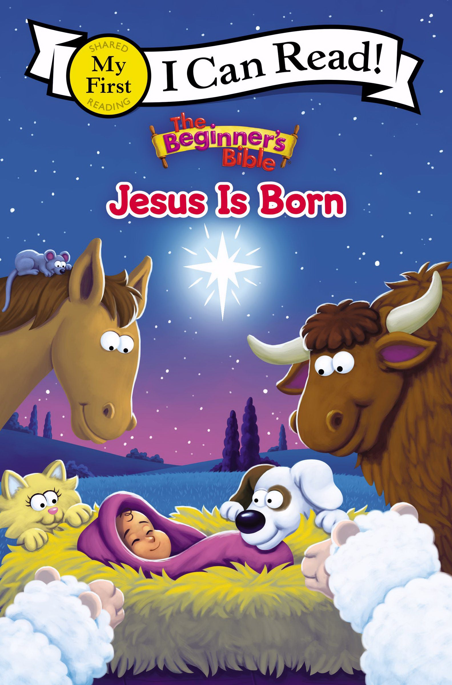 The Beginner's Bible: Jesus Is Born (I Can Read!)