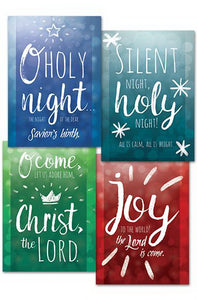 Card-Boxed-Let Us Adore Him Assorted Christmas (4 Designs) (KJV) (Box Of 12)