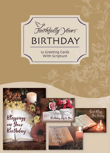 Card-Boxed-Birthday-Treasured Moments (Box Of 12)