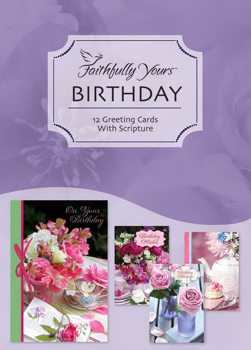 Card-Boxed-Birthday-Teacup Wishes (Box Of 12)