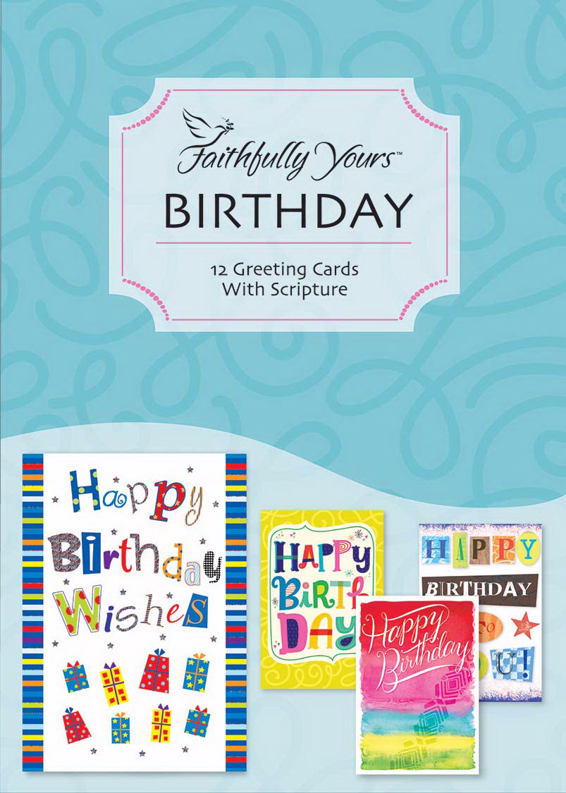Card-Boxed-Birthday-Sweet Celebrations (Box Of 12)