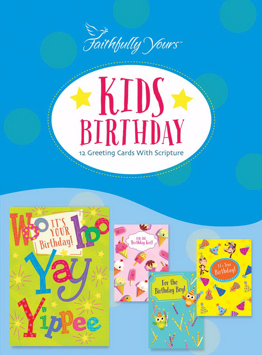 Card-Boxed-Birthday-Kids Birthday (Box Of 12)