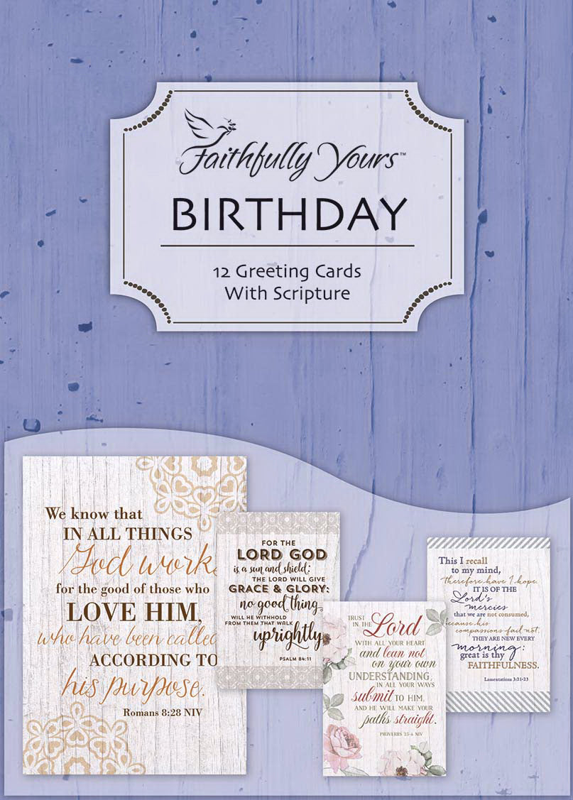 Card-Boxed-Birthday-Good And Faithful Servant (Box Of 12)
