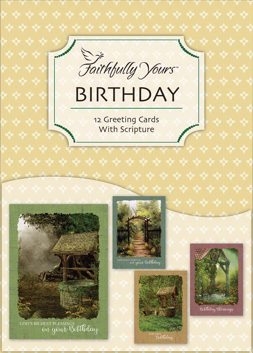 Card-Boxed-Birthday-Wishing Well (Box Of 12)