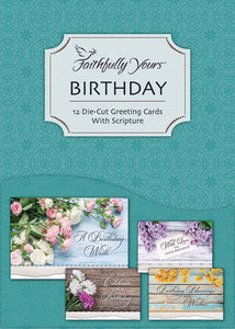 Card-Boxed-Birthday-Bouquet (Box Of 12)