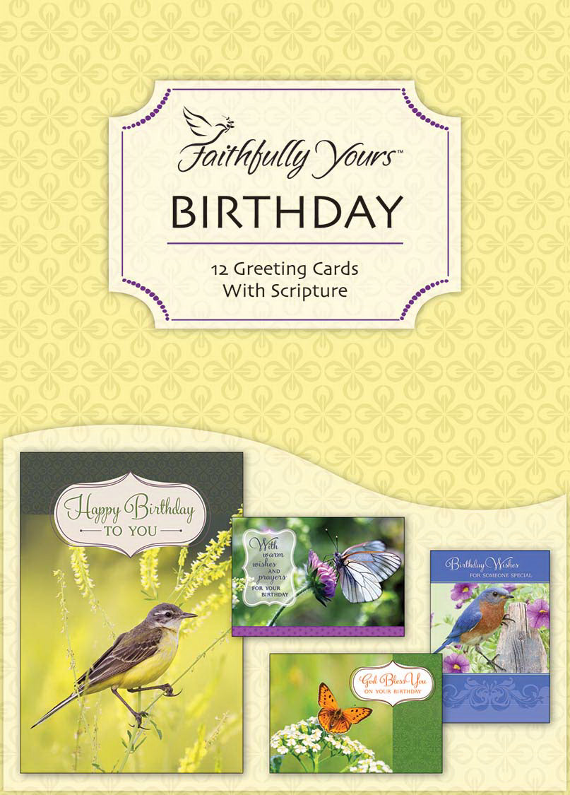 Card-Boxed-Birthday-Flights Of Fancy (Box Of 12)