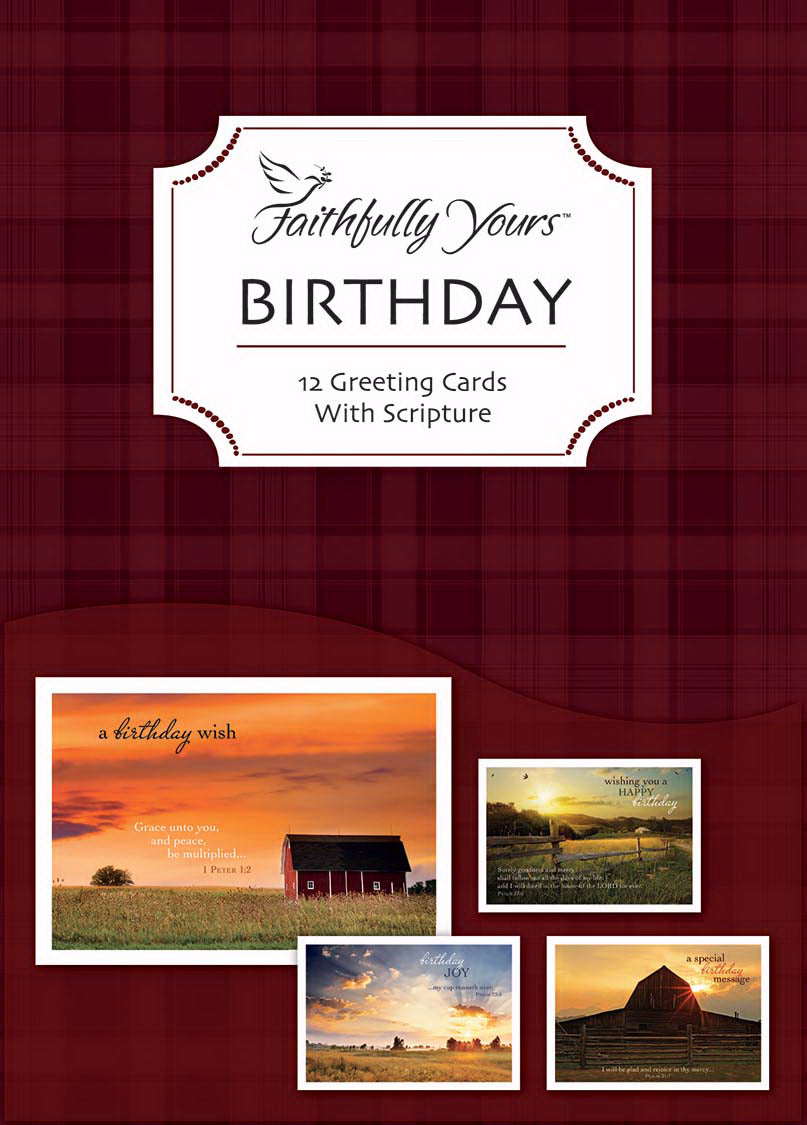 Card-Boxed-Birthday-Heartland Greetings (Box Of 12)