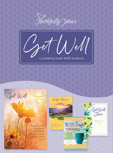 Card-Boxed-Get Well-Wishing You Well (Box Of 12)