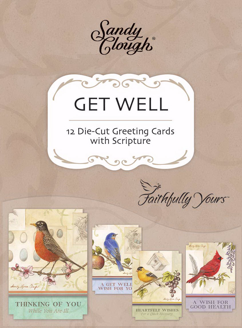 Card-Boxed-Get Well-Song Birds (Box Of 12)