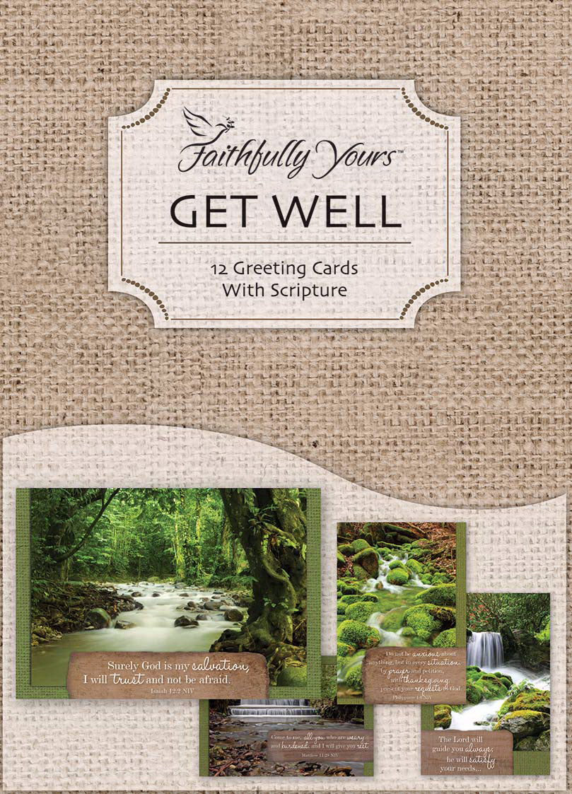 Card-Boxed-Get Well-Waterscapes (Box Of 12)