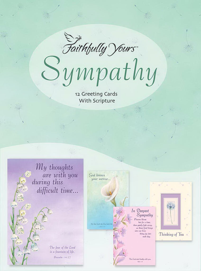 Card-Boxed-Sympathy-Spirit Of Peace (Box Of 12)