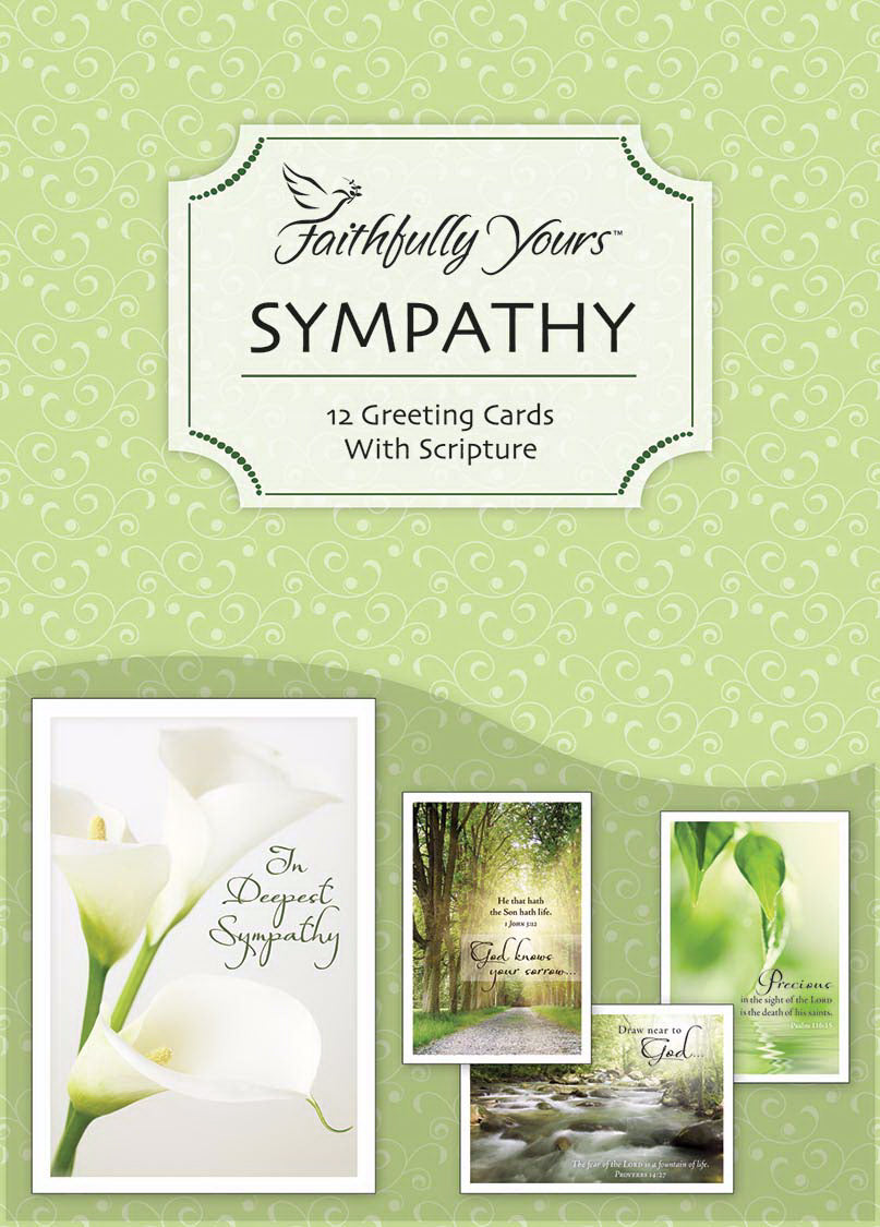 Card-Boxed-Sympathy-Tranquility (Box Of 12)