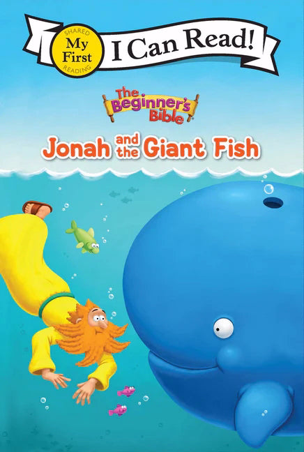 The Beginner's Bible: Jonah And The Giant Fish (I Can Read!)-Hardcover
