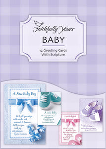 Card-Boxed-Baby-Bundle Of Joy (Box Of 12)