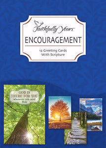 Card-Boxed-Encouragement-God's Comfort (Box Of 12)