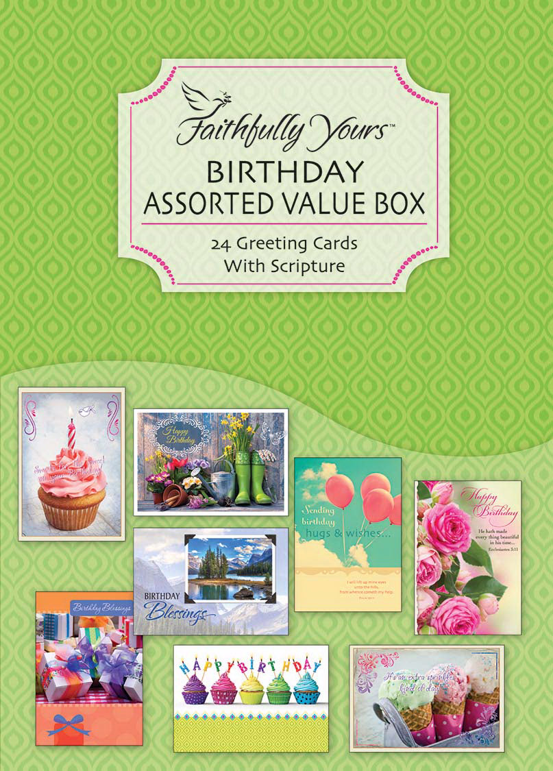 Card-Boxed-Value-Birthday Assorted (Box Of 24)