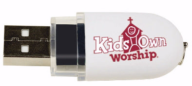 KidsOwn Worship Winter 2019-2020: Videos USB Drive