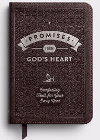 Promises From God's Heart-Brown Leather