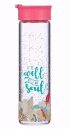 Water Bottle-Well With My Soul (20 Oz)