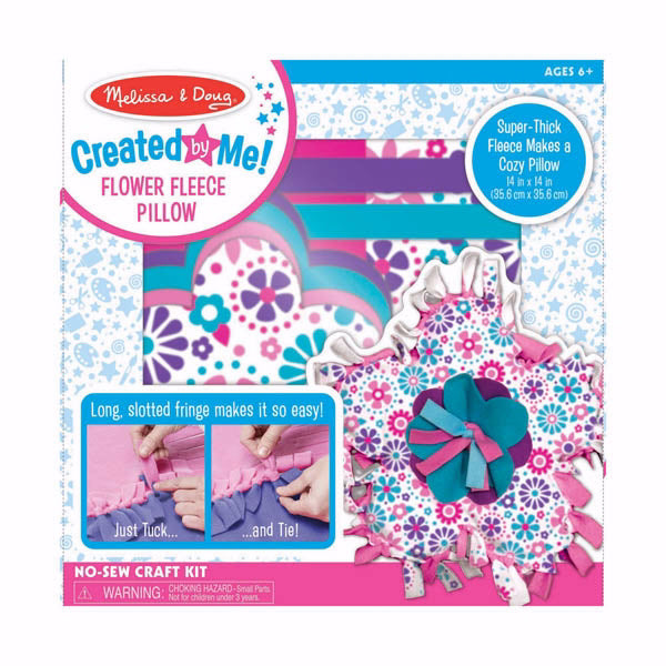 Craft Kit-Created By Me-Flower Fleece Pillow (Ages 6+)