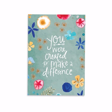 Journal-Make A Difference-Softcover (6 x 8.5)
