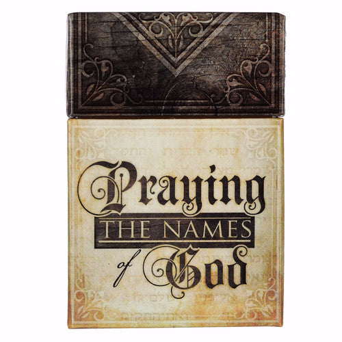 Box of Blessings-Praying Names of God