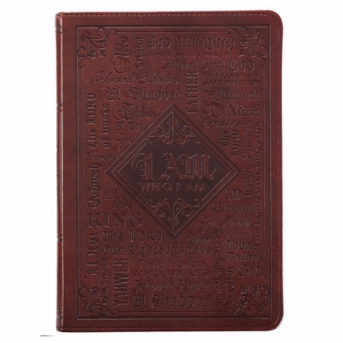 Journal-LuxLeather Flexcover-Names of God