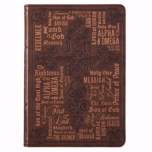 Journal-LuxLeather Flexcover-Names of Jesus
