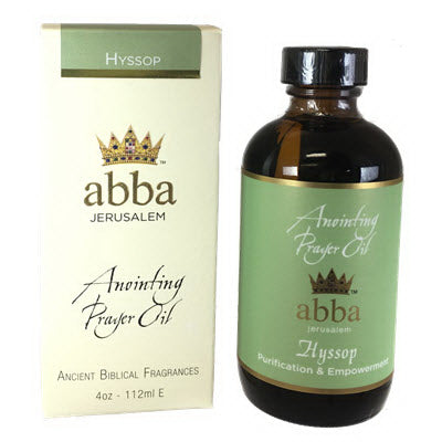 Anointing Oil-Hyssop-4 Oz