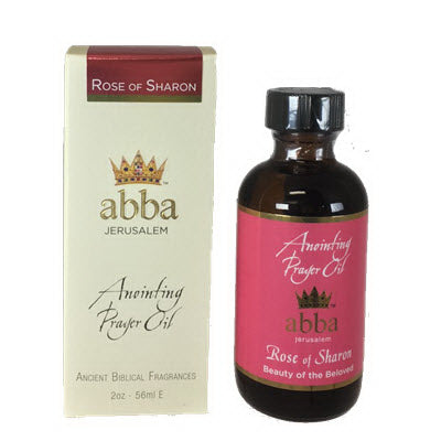 Anointing Oil-Rose Of Sharon-2 Oz