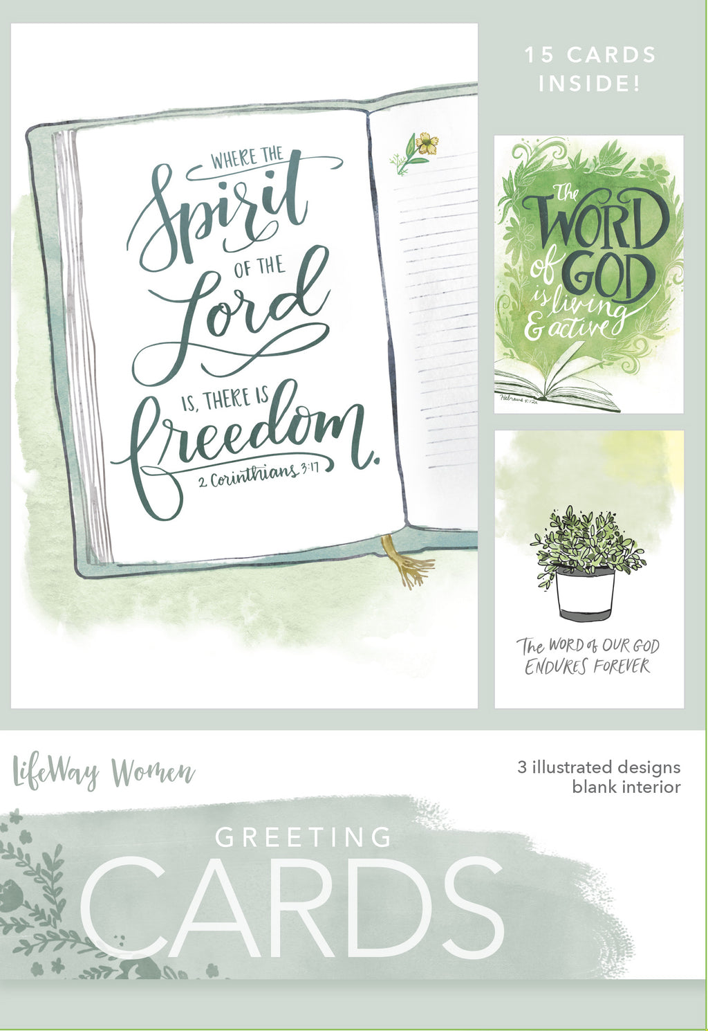 Card-Boxed-Spirit Of The Lord (Box Of 15)
