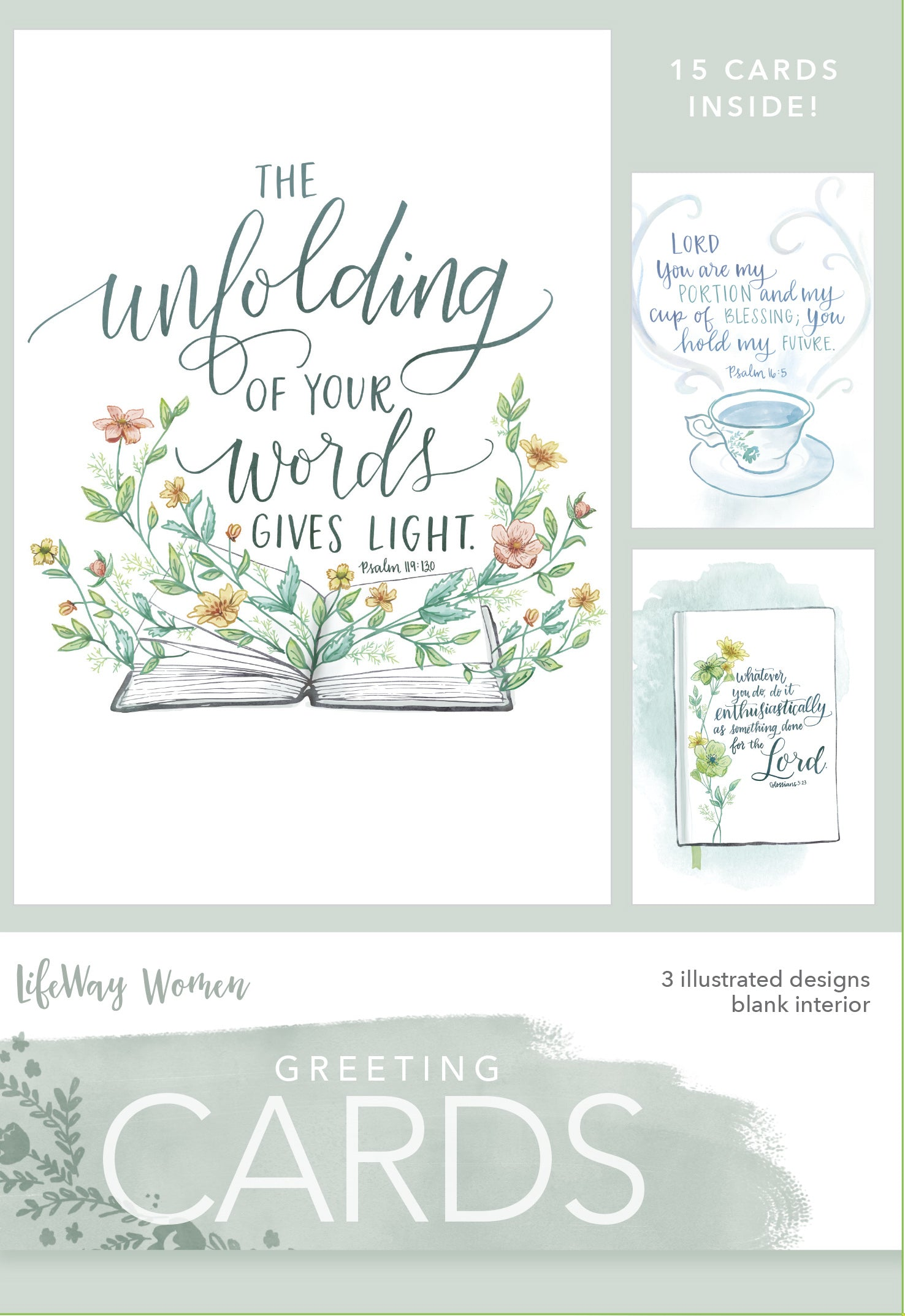 Card-Boxed-Unfolding Of Your Word (Box Of 15)