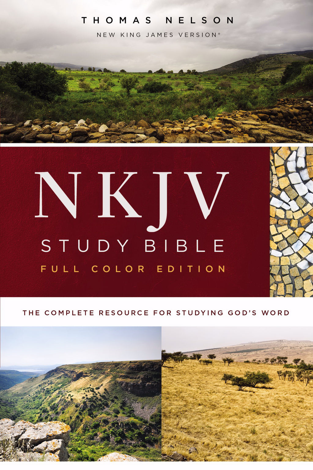 NKJV Study Bible (Full-Color) (Comfort Print)-Hardcover