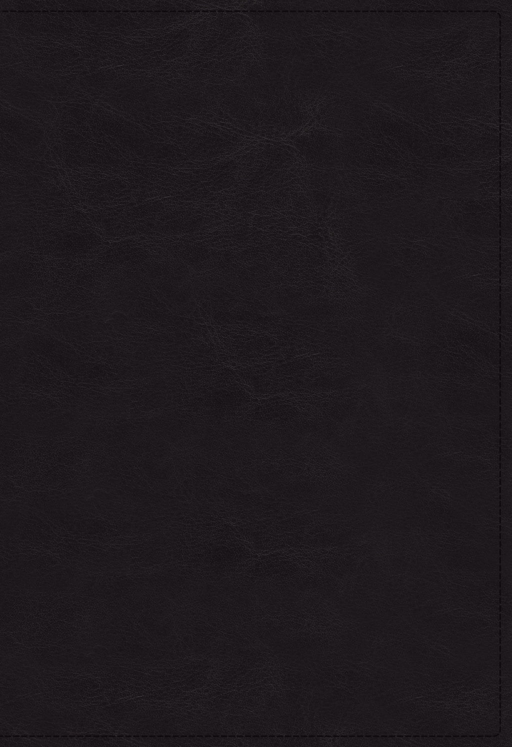 NKJV Open Bible (Comfort Print)-Black Leathersoft Indexed