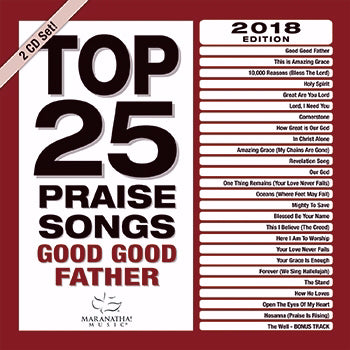 Audio CD-Top 25 Praise Songs Good Good Father (2 CD)