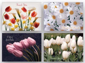 Card-Boxed-Shared Blessings-Thank You 2-Floral (Box Of 12)