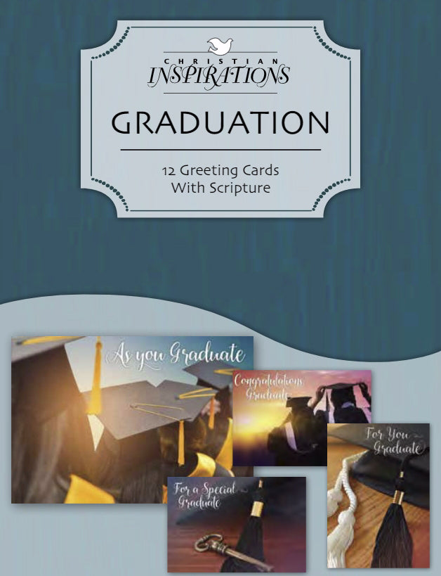 Card-Boxed-Graduation Blessings (Box Of 12)