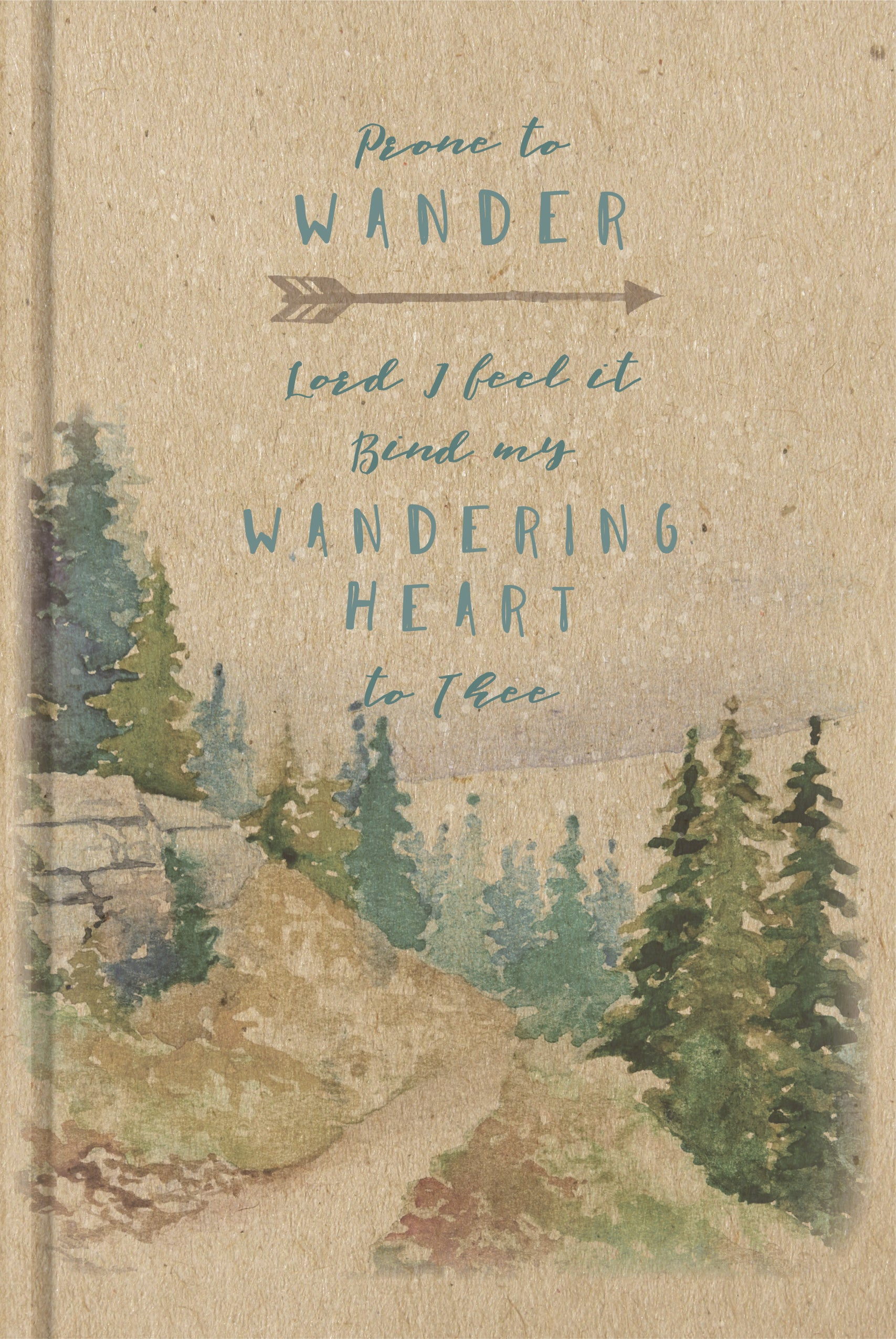 Prone To Wander Sermon Notes Journal