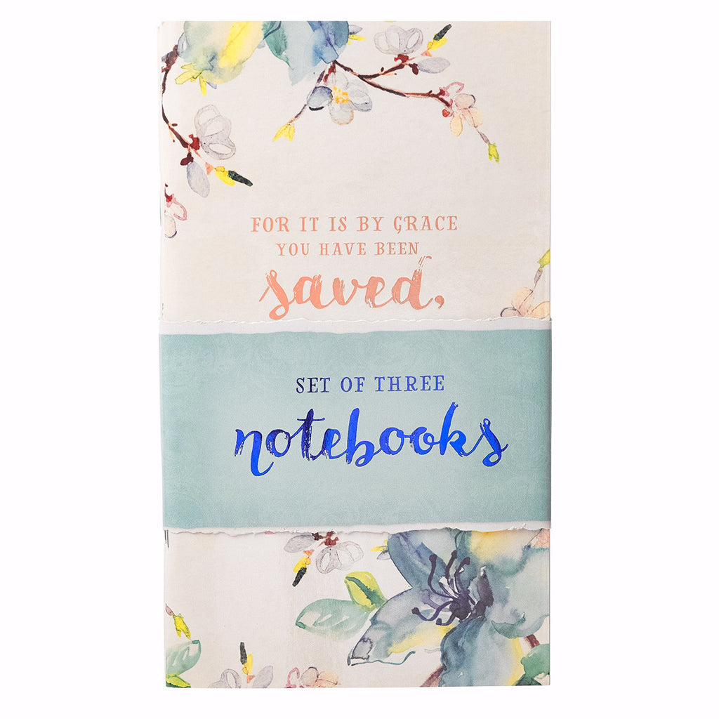 Notebook Set-Watercolor (Set Of 3)