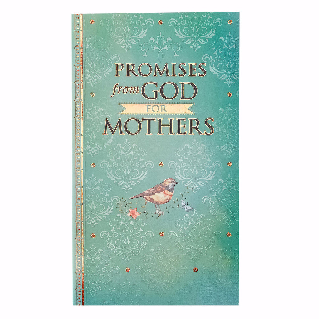 Promises From God For Mothers-Teal Softcover