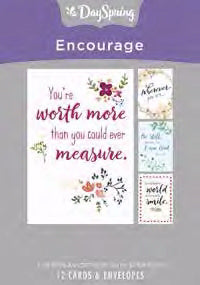 Card-Boxed-Encouragement-Words (Box Of 12)