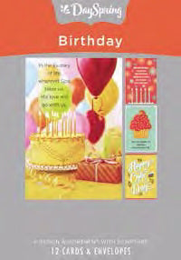 Card-Boxed-Birthday-Birthday Images (Box Of 12)