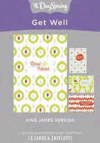 Card-Boxed-Get Well-Patterns (Box Of 12)