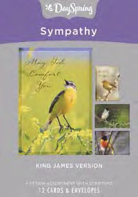 Card-Boxed-Sympathy-Birds (Box Of 12)