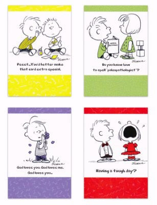 Card-Boxed-Vintage Charles M. Schulz Assorted All Occasion (KJV) (Box Of 12)